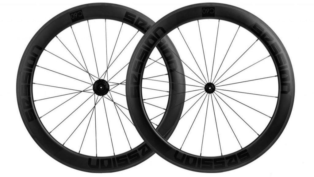 roda de carbono c60